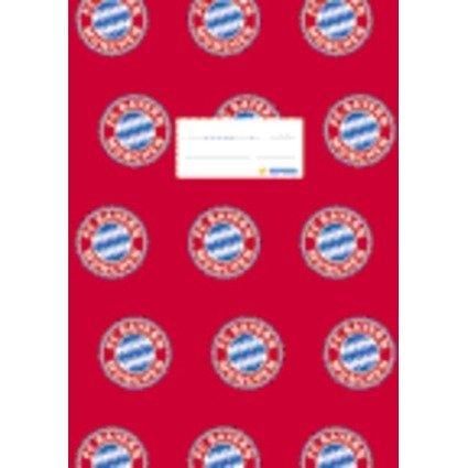 "HERMA Heftschoner ""FC Bayern München"", DIN A4, aus PP, rot"