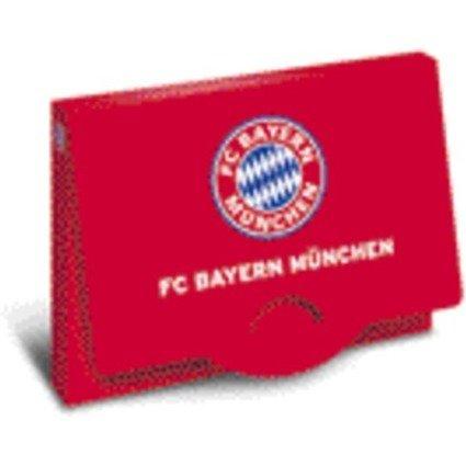 "HERMA Heftbox ""FC Bayern München"", DIN A4, aus PP, rot"
