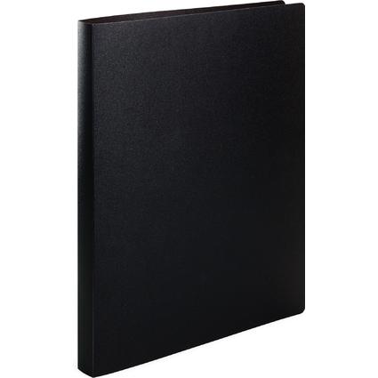 HERMA Ringbuch, DIN A4, 2-Ring-Mechanik, schwarz