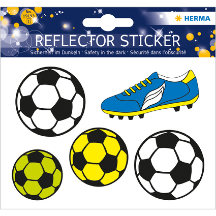 "HERMA Reflektorsticker ""Fußball"""