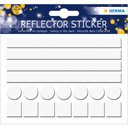 "HERMA Reflektorsticker ""Neutral"""