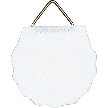 HERMA Bildaufhänger Durchmesser 30 mm, Shirting, weiß