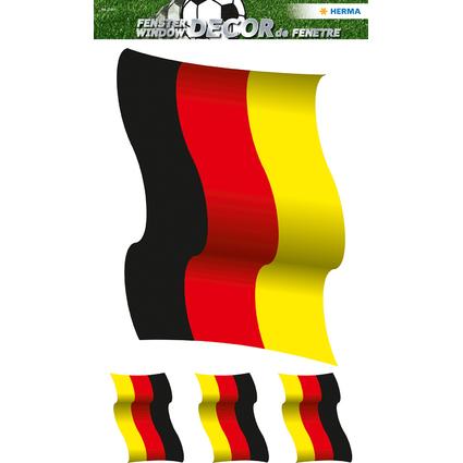"""HERMA Fensterbild XL """"Deutschlandfahne"""""""