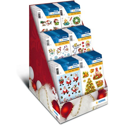 HERMA Weihnachts-Sticker DECOR, Thekendisplay