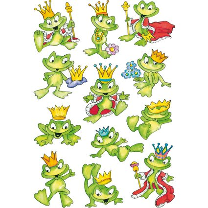 "HERMA Sticker DECOR ""Froschkönig"""
