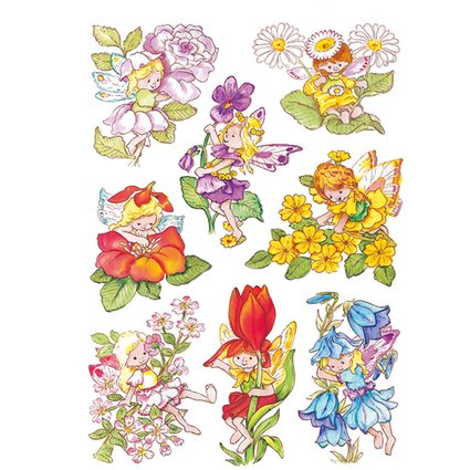 "HERMA Sticker DECOR ""Blumenelfen"""