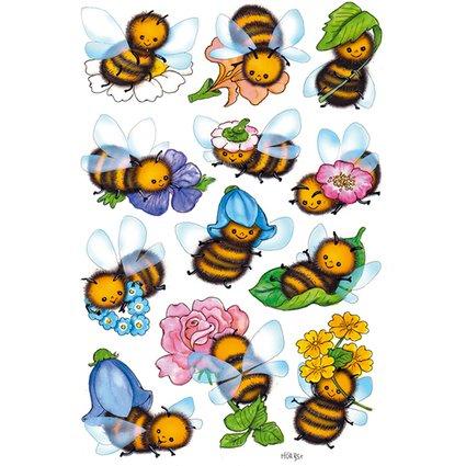 """HERMA Sticker DECOR """"Lustige Bienen"""""""