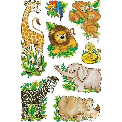 """HERMA Sticker DECOR """"Dschungeltiere"""""""