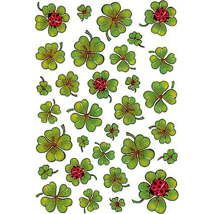"HERMA Sticker DECOR ""Kleeblätter"""
