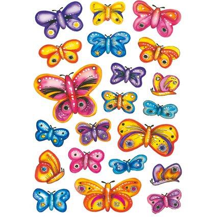 "HERMA Sticker DECOR ""Schmetterlinge"""