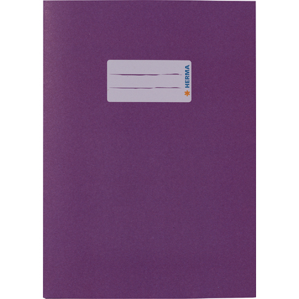 HERMA Heftschoner, aus Papier, DIN A5, violett