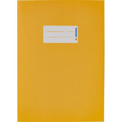 HERMA Heftschoner, aus Papier, DIN A5, gelb