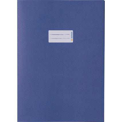 HERMA Heftschoner Recycling, DIN A4, aus Papier, dunkelblau