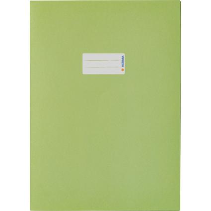 HERMA Heftschoner Recycling, DIN A4, aus Papier, grasgrün