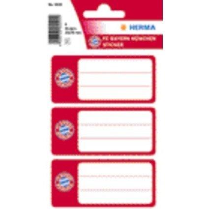 """HERMA Buchetiketten """"FC Bayern München"""", 76 x 35 mm"""