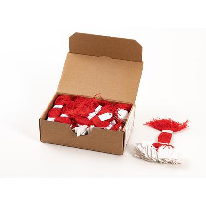 HERMA Warenanhänger, 15 x 24 mm, mit rotem Faden, Karton