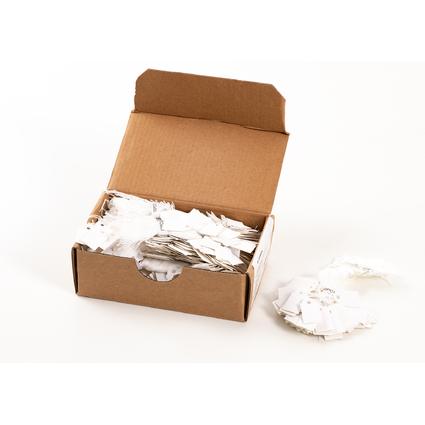 HERMA Warenanhänger, 15 x 24 mm, mit weißem Faden, Karton