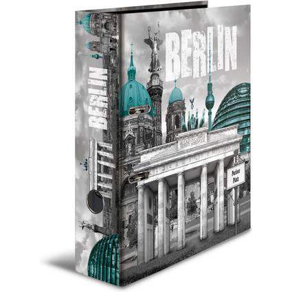 """HERMA Motivordner """"Berlin"""", DIN A4, Rückenbreite: 70 mm"""