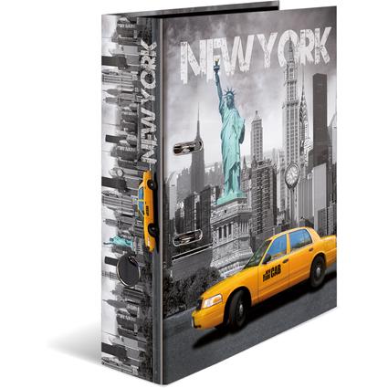"""HERMA Motivordner """"New York"""", DIN A4, Rückenbreite: 70 mm"""