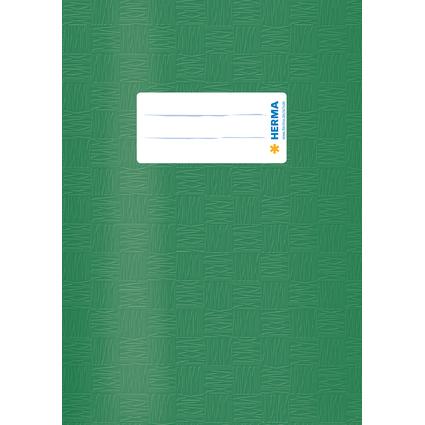 HERMA Heftschoner, DIN A5, aus PP, dunkelgrün gedeckt