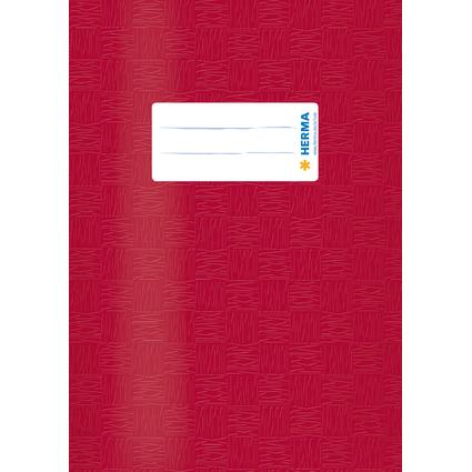HERMA Heftschoner, DIN A5, aus PP, weinrot gedeckt