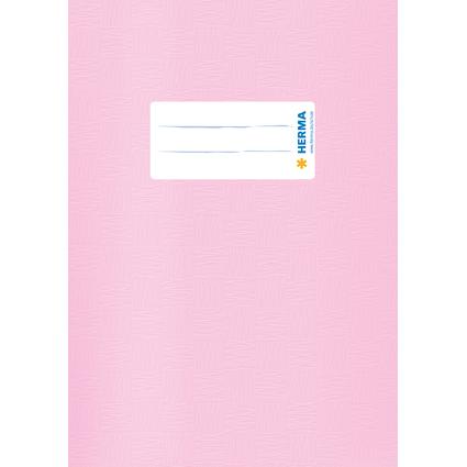 HERMA Heftschoner, DIN A5, aus PP, rosa gedeckt