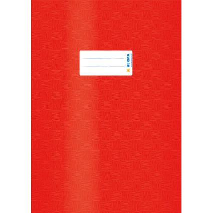HERMA Heftschoner, DIN A4, aus PP, rot gedeckt