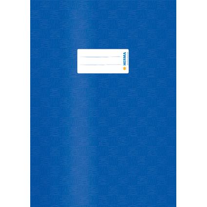 HERMA Heftschoner, DIN A4, aus PP, dunkelblau gedeckt