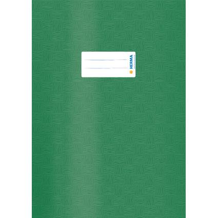 HERMA Heftschoner, DIN A4, aus PP, dunkelgrün gedeckt