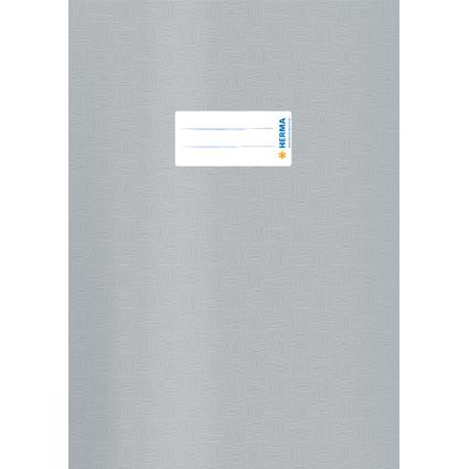 HERMA Heftschoner, DIN A4, aus PP, grau gedeckt