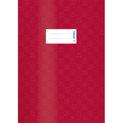 HERMA Heftschoner, DIN A4, aus PP, weinrot gedeckt