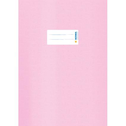 HERMA Heftschoner, DIN A4, aus PP, rosa gedeckt