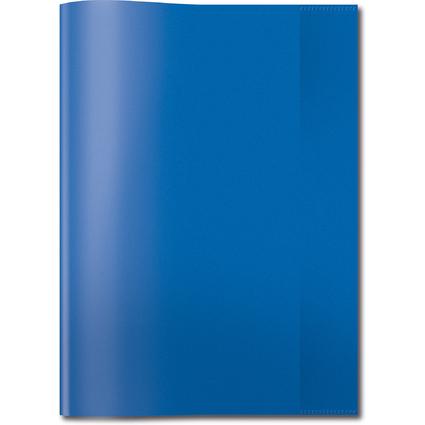 HERMA Heftschoner, DIN A4, aus PP, transparent-blau