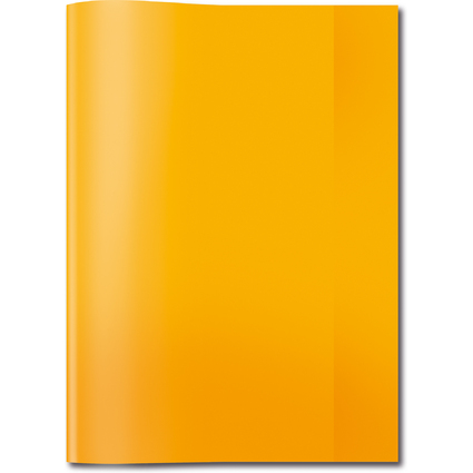 HERMA Heftschoner, DIN A4, aus PP, transparent-orange