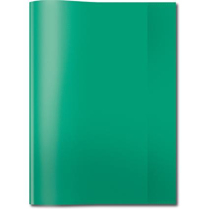 HERMA Heftschoner, DIN A4, aus PP, transparent-grün