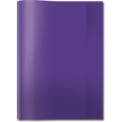 HERMA Heftschoner, DIN A4, aus PP, transparent-violett