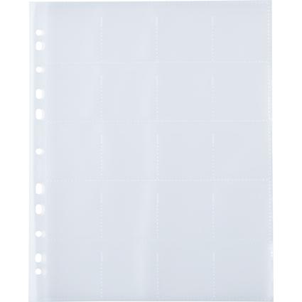 HERMA Diahüllen für Kleinbilddias 5 x 5 cm, klar/matt