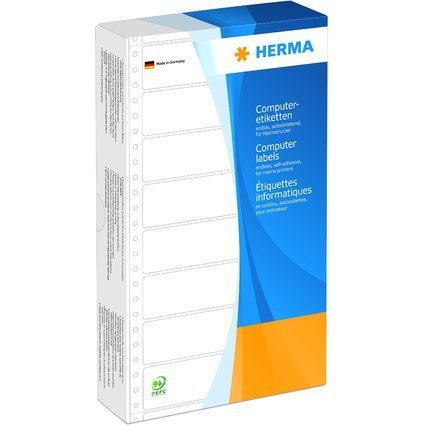 HERMA Computeretiketten endlos, 147,32 x 99,2 mm, 1-bahnig