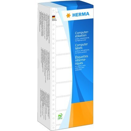 HERMA Computeretiketten endlos, 88,9 x 35,7 mm, 1-bahnig