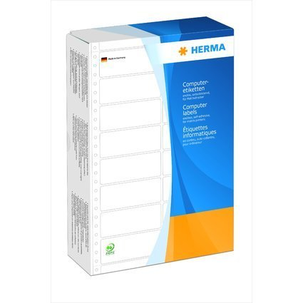 HERMA Computeretiketten endlos, 88,9 x 48,4 mm, 2-bahnig