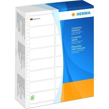 HERMA Computeretiketten endlos, 68,58 x 35,7 mm, 3-bahnig