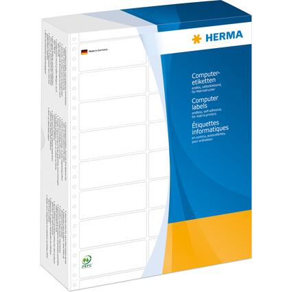 HERMA Computeretiketten endlos, 68,58 x 35,7 mm, 3-bahnig