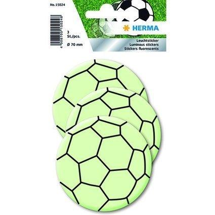 """HERMA Leuchtsticker """"Fußball Maxi"""""""