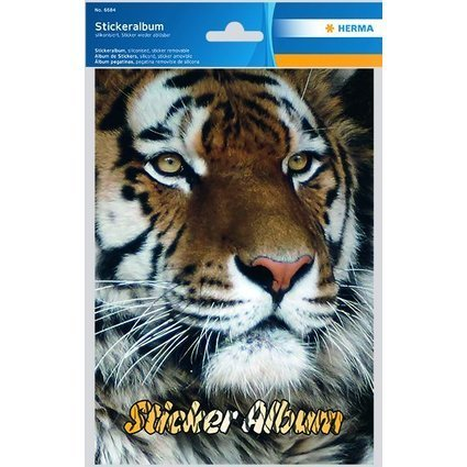 "HERMA Stickeralbum ""Tiger"", DIN A5"