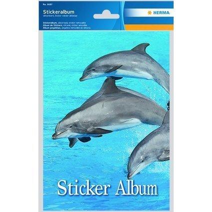 "HERMA Stickeralbum ""Delfine"", DIN A5"