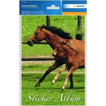 """HERMA Stickeralbum """"Pferd"""", DIN A5"""