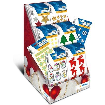 HERMA Weihnachts-Sticker MAGIC, im Thekendisplay