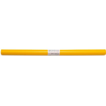 HERMA Buchschutzfolie, 400 mm x 2 m, aus PP, gelb