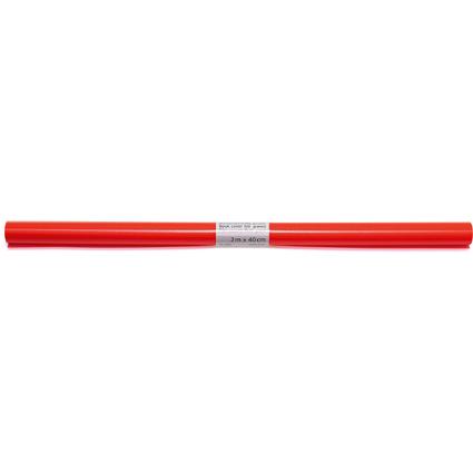 HERMA Buchschutzfolie, 400 mm x 2 m, aus PP, rot