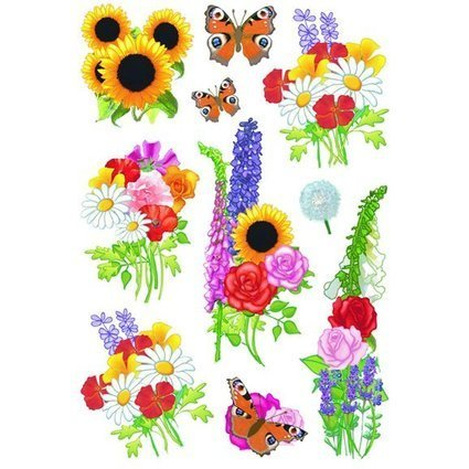 "HERMA Sticker DECOR ""Moderne Blumen"""